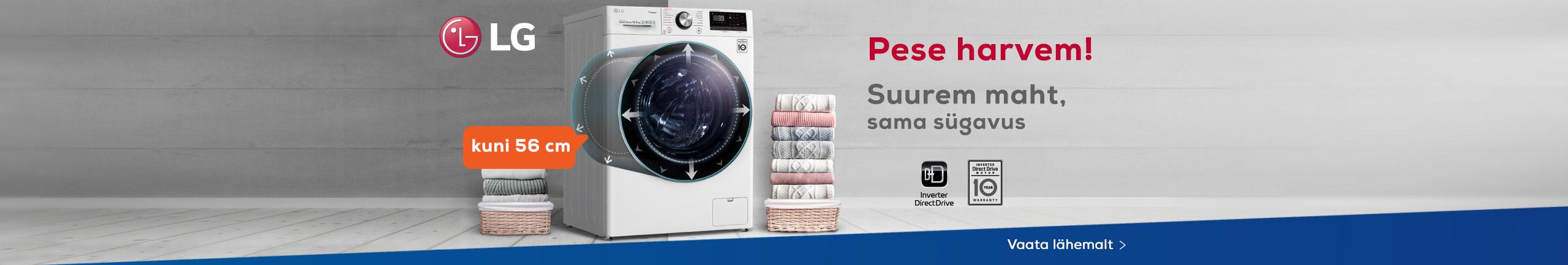 Discover LG washing machines