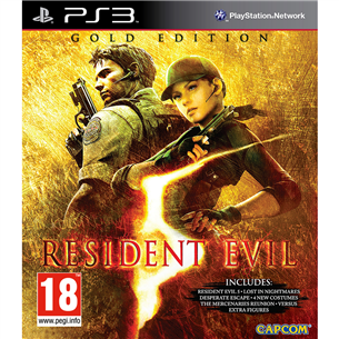 PlayStation 3 mäng Resident Evil 5 Gold Edition