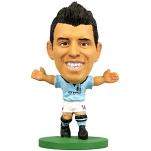 Kujuke Sergio Kun Aguero Man City, SoccerStarz