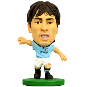 Kujuke David Silva Man City, SoccerStarz