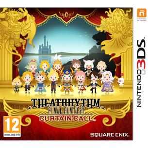Nintendo 3DS mäng Theatrhythm Final Fantasy Curtain Call
