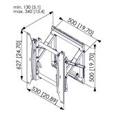 Video wall pop out module Vogel´s PFW 6875