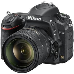 Peegelkaamera Nikon D750 + 24-120 mm objektiiv