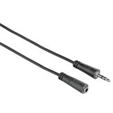 Audiokaabli pikendus 3,5 mm Hama (5 m)