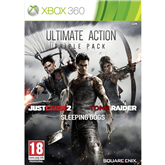 Xbox360 mäng Ultimate Action Triple Pack