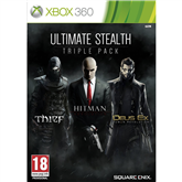 Xbox360 mäng Ultimate Stealth Triple Pack