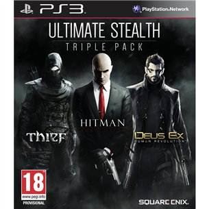 PlayStation 3 mäng Ultimate Stealth Triple Pack
