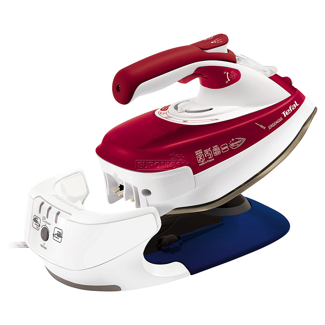 Cordless Steam Iron ~ Cordless steam iron tefal freemove w fv