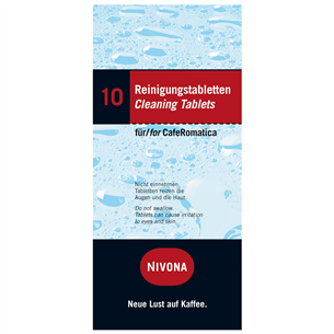 Ополаскивающие таблетки для эспрессо-машины, Nivona