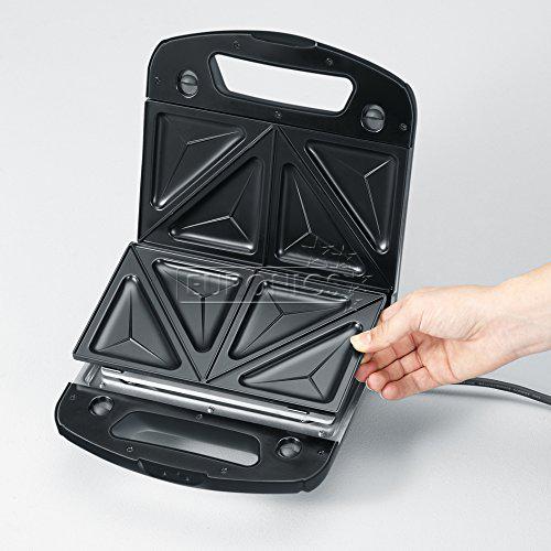 Контактный тостер со съёмными пластинами, Severin