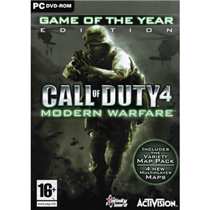 Arvutimäng Call of Duty 4: Modern Warfare Game of The Year Edition