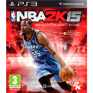 PlayStation 3 mäng NBA 2K15