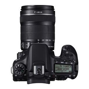Peegelkaamera EOS 70D + EF-S 18-135mm objektiiv, Canon
