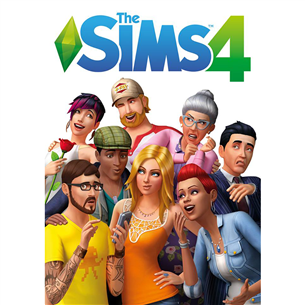 PC game The Sims 4 5030945111092