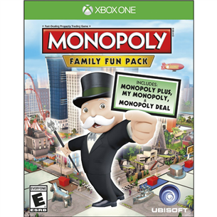Xbox One mäng Monopoly Family Fun Pack