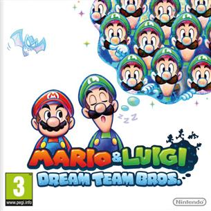 Nintendo 3DS mäng Mario & Luigi: Dream Team Bros.