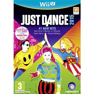 Nintendo Wii U mäng Just Dance 2015