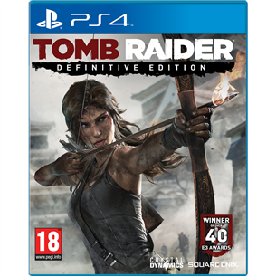 PlayStation 4 mäng Tomb Raider: Definitive Edition