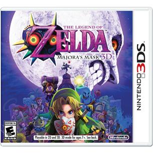 Nintendo 3DS mäng Zelda: Majoras Mask