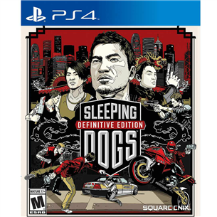 Playstation 4 mäng Sleeping Dogs Definitive Edition