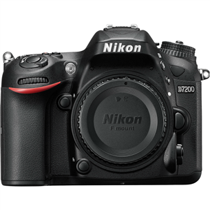 Peegelkaamera D7200 kere, Nikon