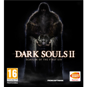 PS4 mäng Dark Souls II: Scholar of the First Sin