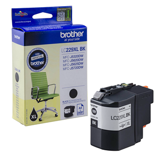 Ink Cartridge LC229XBLK(black), Brother