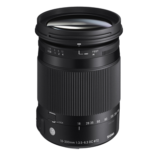 Objektiiv 18-300mm F3.5-6.3 DC MACRO OS HSM | C Canonile, Sigma
