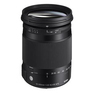 Objektiiv 18-300mm F3.5-6.3 DC MACRO OS HSM | C Nikonile, Sigma