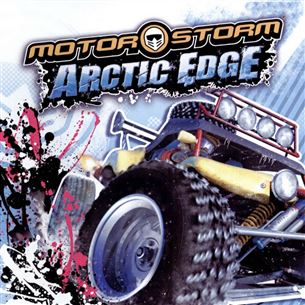 PlayStaton Portable mäng MotorStorm Arctic Edge