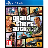 PlayStation 4 mäng Grand Theft Auto V
