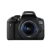 Peegelkaamera EOS 750D 18-55mm IS STM + rihm, Canon