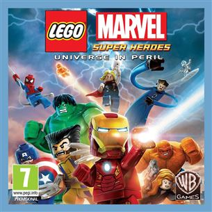 3DS mäng LEGO Marvel Super Heroes