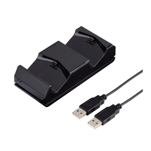 PS4 pultide laadimisjaam ESS Dual Charger, Hama
