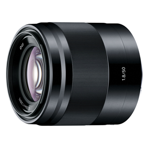 E 50mm F1.8 OSS lens, Sony