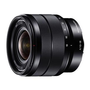 Objektiiv E 10-18mm f/4.0 OSS, Sony