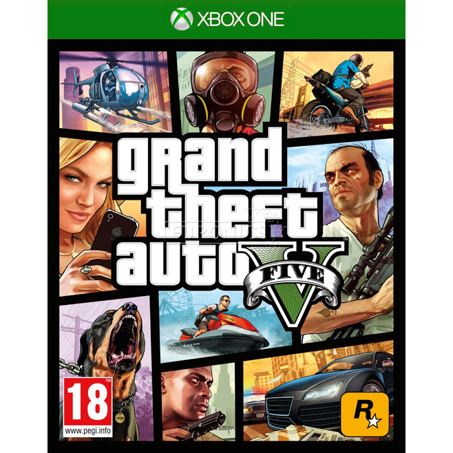 ad70ae2db41 Xbox One mäng Grand Theft Auto V, 5026555284073