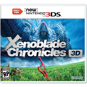 Nintendo New 3DS mäng Xenoblade Chronicles 3D