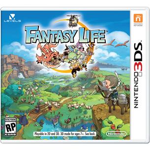 3DS mäng Fantasy Life