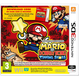 [digitaalne] 3DS mäng Mario vs Donkey Kong: Tipping Stars