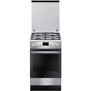 Gas stove with electric oven, Hansa (50 cm) FCMX582509