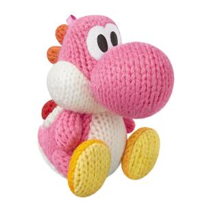 Amiibo Nintendo Pink Yarn Yoshi 045496352998