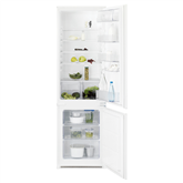 Built-in refrigerator, Electrolux (178cm)