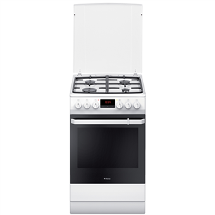 Gas cooker with electric oven, Hansa (50 cm) FCMW582109
