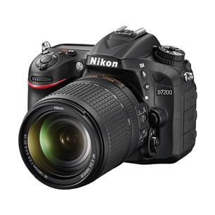Peegelkaamera Nikon D7200 +  AF-S DX NIKKOR 18–140 mm VR
