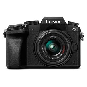 Hübriidkaamera LUMIX G7 + LUMIX G Vario 14-42mm, Panasonic