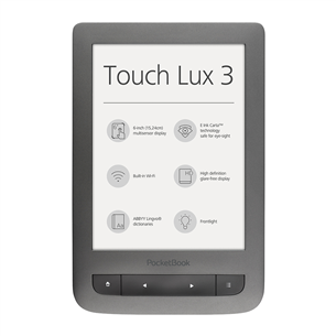 E-reader PocketBook Touch Lux 3