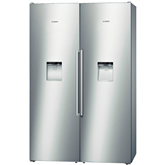 Side-by-Side refrigerator, Bosch / height: 187 cm