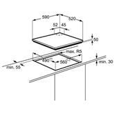 Integreeritav pliidiplaat Electrolux (induktsioon/gaas)