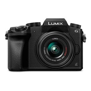 Hübriidkaamera LUMIX G7 + LUMIX G Vario 14-42mm ja 45-150mm, Panasonic